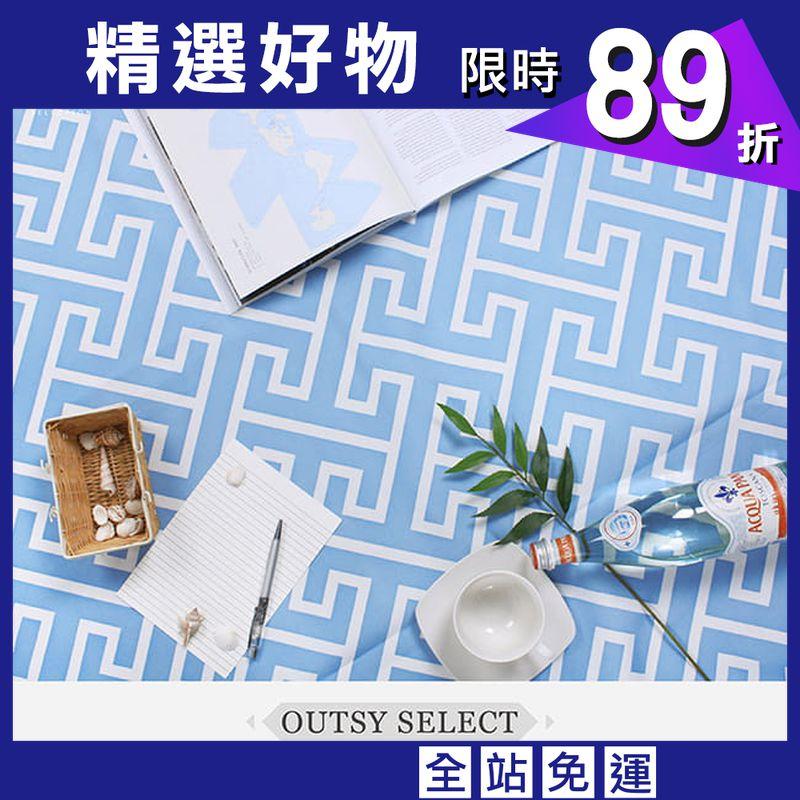 【OUTSY】台灣製300x290巨大獨家花色野餐墊帳篷地墊